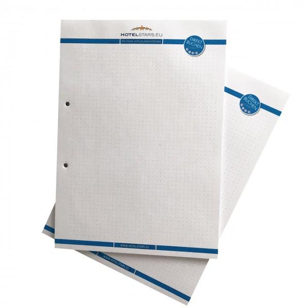 Hotelstars Schreibblock A4