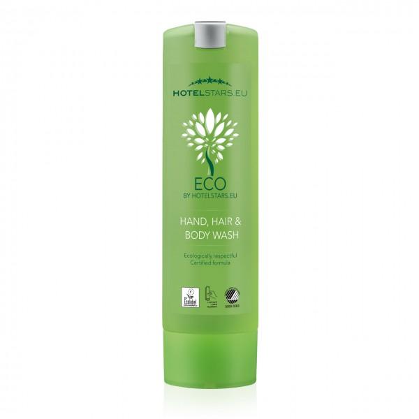 "Hand Hair & Body Wash ""ECO by Hotelstars.eu "" SMART CARE Spender"