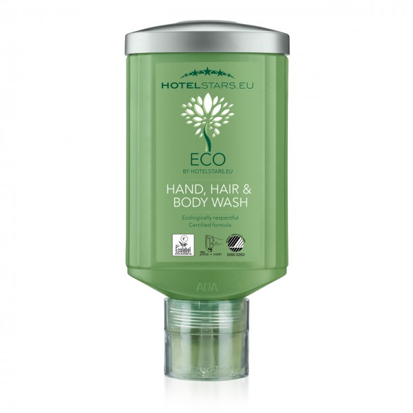 ECO by Hotelstars.eu Hair & Body Wash PRESS & WASH